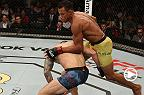 Watch Alex Oliveira in the Octagon after his victory at Fight Night Sao Paulo.