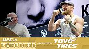 The frenzy of UFC 229 fight week continues when fighters square off at Ultimate Media Day, while  lightweight champion Khabib Nurmagomedov and Conor McGregor say their pieces but don't share a stage at the press conference.