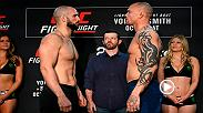 Watch the face-offs from Friday's official Fight Night Moncton weigh-in, featuring Volkan Oezdemir and Anthony Smith.