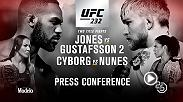 Watch the UFC 232 pre-fight press conference on Friday, Nov. 2 at 5pm/2pm ETPT live from New York City.