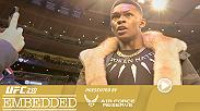UFC 230 Embedded is an all-access, behind-the-scenes video blog leading up to the heavyweight title fight taking place Saturday, November 3 on Pay-Per-View. Featuring Israel Adesanya, Jacare Souza, Chris Weidman, DC & more.