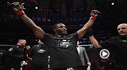 Karl Roberson earned a hard-fought win at UFC 230 and chatted with Joe Rogan inside the Octagon afterwards.
