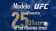 We're teaming up with Modelo to give away the Ultimate Octagonside Experience. For a chance to experience the Fighting Spirit alongside UFC legends, tell us which of these Top 5 UFC upsets is your favorite: ModeloUFC25.com