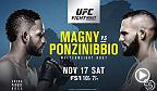 Le poids mi-moyen Santiago Ponzinibbio est sur une séquence de six victoires consécutives à l'aube de son affrontement contre Neil Magny en combat principal de l'événement Fight Night Buenos Aires.