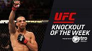 Watch Edson Barboza's epic head-kick finish against Terry Etim at UFC 142