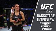 Hear from Cris Cyborg after her loss to Amanda Nunes at UFC 232.