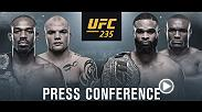 Ahead of UFC 235: Jones vs Smith, the UFC will host a press conference with Dana White and select athletes from the main card on Thursday, Jan. 31 at 5 p.m. PT/ 8 p.m. ET
