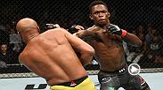 Watch Israel Adesanya and Anderson Silva in the Octagon after their main event bout at UFC 234.