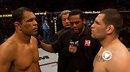 The former heavyweight champion Cain Velasquez makes his return against Francis Ngannou in the Fight Night Phoenix main event Sunday night on ESPN. Take a look back at his Knockout of the Night Performance against Minotauro Nogueira at UFC 110.