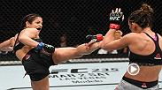 Watch Cynthia Calvillo in the Octagon after her win at UFC Phoenix.