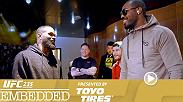 UFC 235 Embedded is an all-access, behind-the-scenes video blog leading up to the two world title fights taking place Saturday, March 2nd on Pay-Per-View.