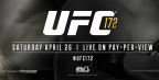 By The Numbers: UFC 172