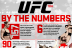 UFC 184: By The Numbers Infographic