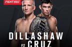 Dana looks forward to 'great' Cruz-Dillashaw clash