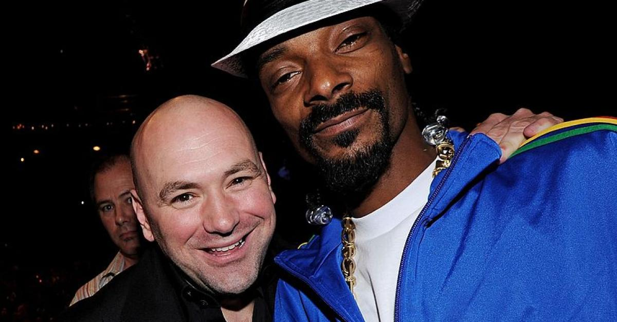 Dana white announces the addition of snoop dogg to dwtncs for Dans white