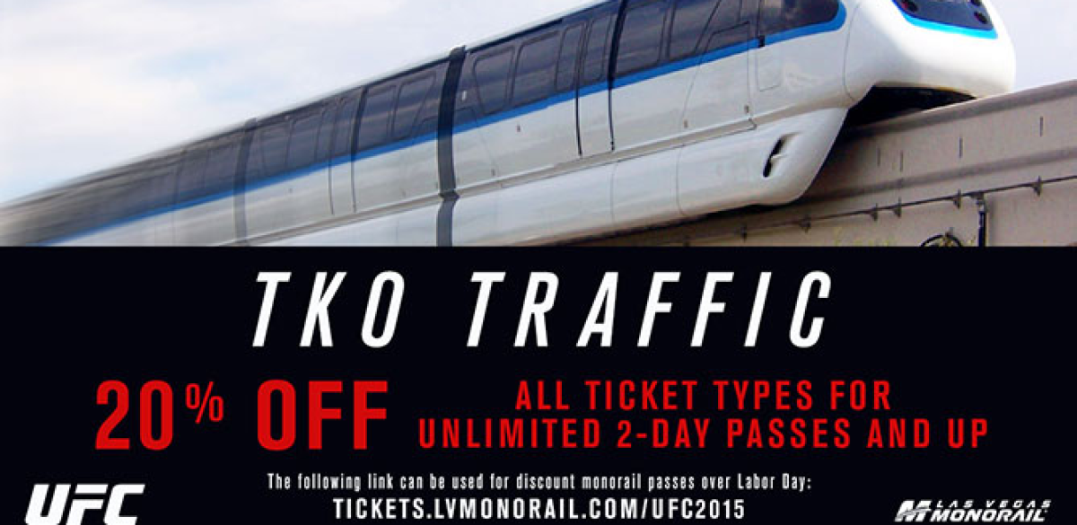 Las vegas monorail discount coupons
