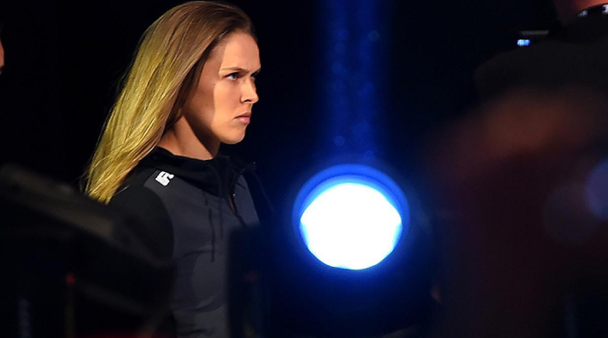 Ronda Rousey bites an ear? 'Drunk History' has it all | UFC &reg - News