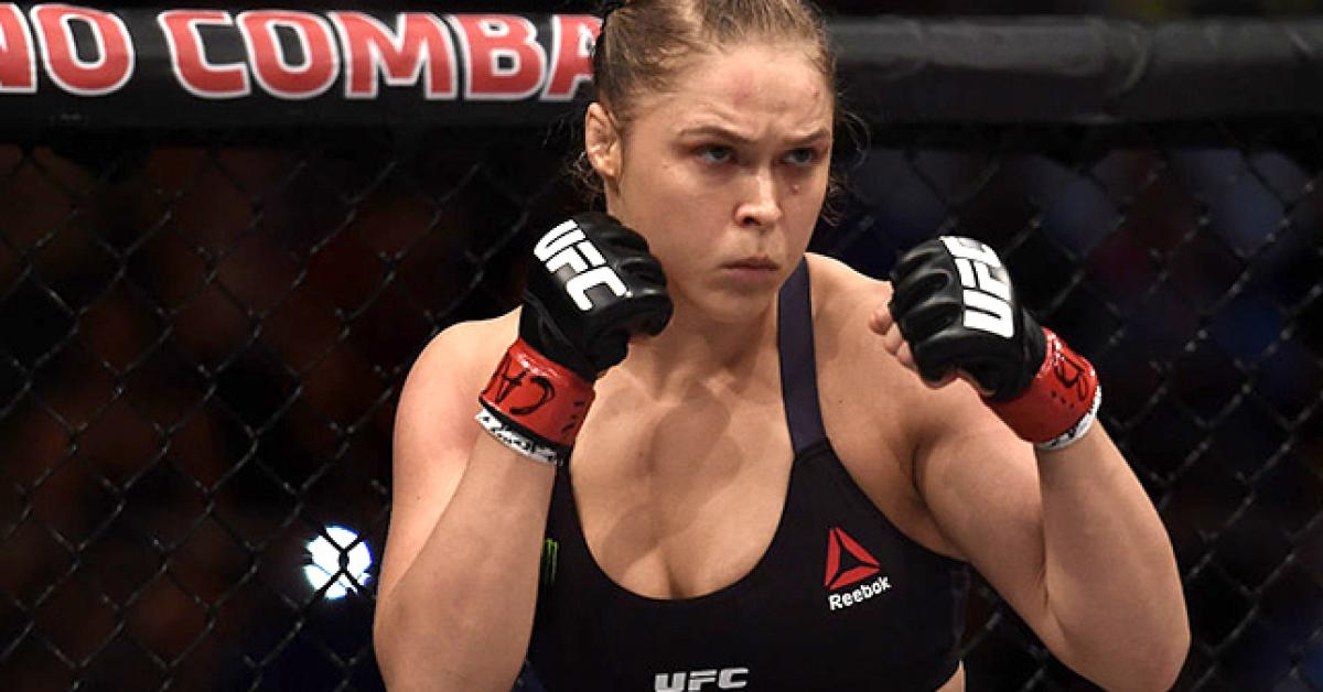 Ronda rousey no makeup