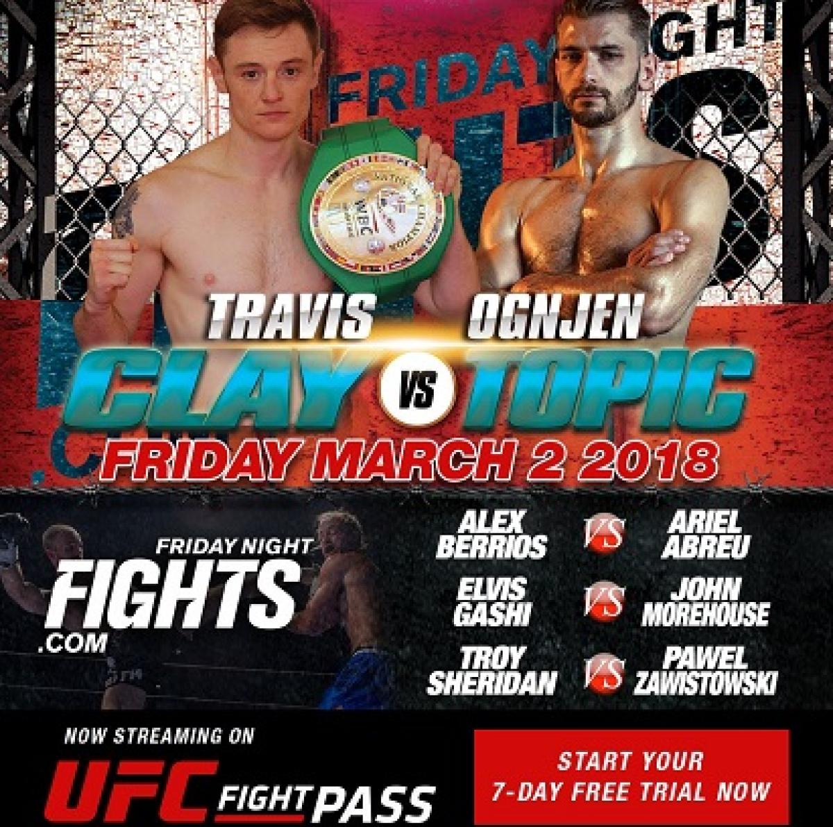 UFC FIGHT PASS Stream Live Muay Thai Boxing Tonight
