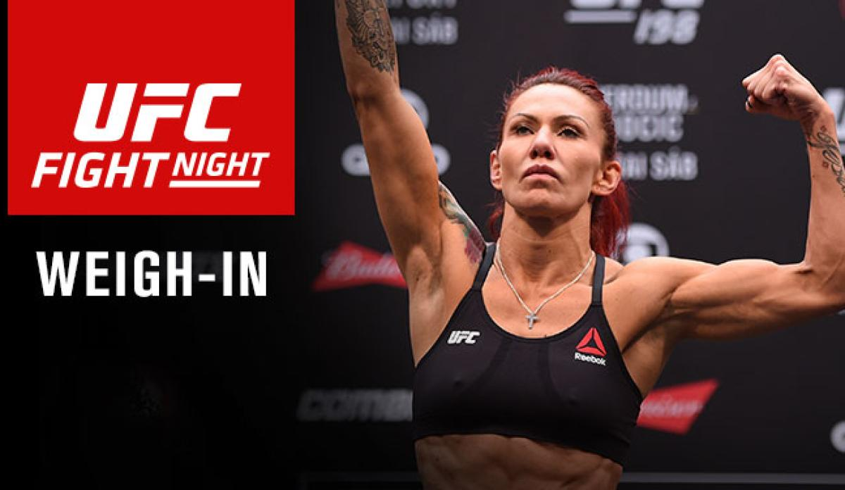 UFC Greenville weigh-in results, video - MMA Fighting