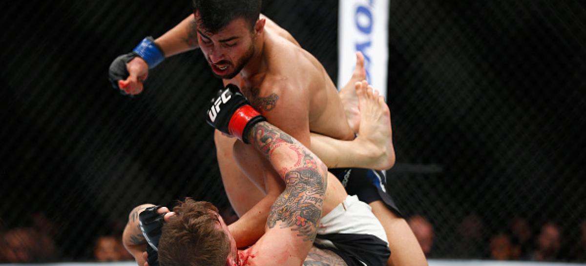 ufc fight outcome