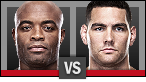 Anderson Silva vs. Chris Weidman