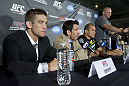 Dana White, Sam Stout, Kenny Florian &amp; Junior dos Santos