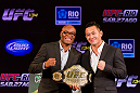 Anderson Silva and Yushin Okami will battle for the UFC Middleweight Championship