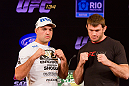 Shogun is ready for his rematch versus Forrest Griffin