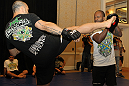 UFC 132 Open Workouts: Wanderlei Silva