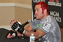 UFC 132 Open Workouts: Chris Leben