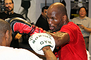 World Champion boxer Bernard Hopkins