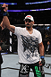 UFC 133: Constantinos Phillippou celebrates his win.