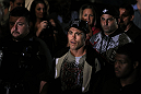 Jake Shields enters the arena