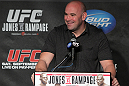 Dana White at the UFC 135 Press Conference