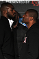 Jon Jones faces off with Rampage Jackson