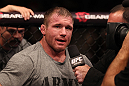 Matt Hughes after his fight with Josh Koscheck