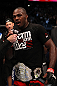 Jon Jones after his win over Rampage Jackson
