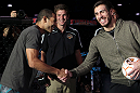 Jose Aldo and Kenny Florian