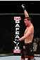 Darren Elkins after his win over Tiequan Zhang