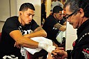 Anthony Pettis before his fight