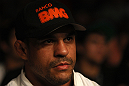 Vitor Belfort attends UFC 136