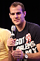 UFC fighter Cole Miller attends a Q&amp;A session with former cast members of The Ultimate Fighter on the main stage at the UFC Fan Expo
