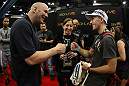 UFC President Dana White meets and greets fans at the UFC Fan Expo