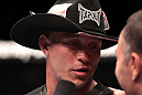 Donald Cerrone after his win over Dennis Siver