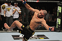Renan Barao celebrates