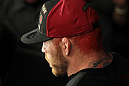 Chris Leben enters the arena