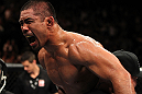 Mark Munoz after his win over Chris Leben