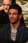 Actor and MMA fighter Alex Reid attends the fights