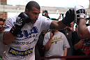 SAN JOSE, CA - NOVEMBER 16:  Mauricio &quot;Shogun&quot; Rua works out for the fans and media during the UFC 139 open workouts at the Heroes Martial Arts Gym on November 16, 2011 in San Jose, California.  (Photo by Josh Hedges/Zuffa LLC/Zuffa LLC via Getty Images)